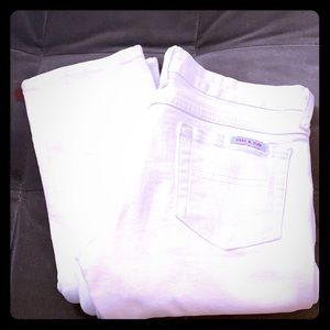 Sass and Bide jeans white size 28